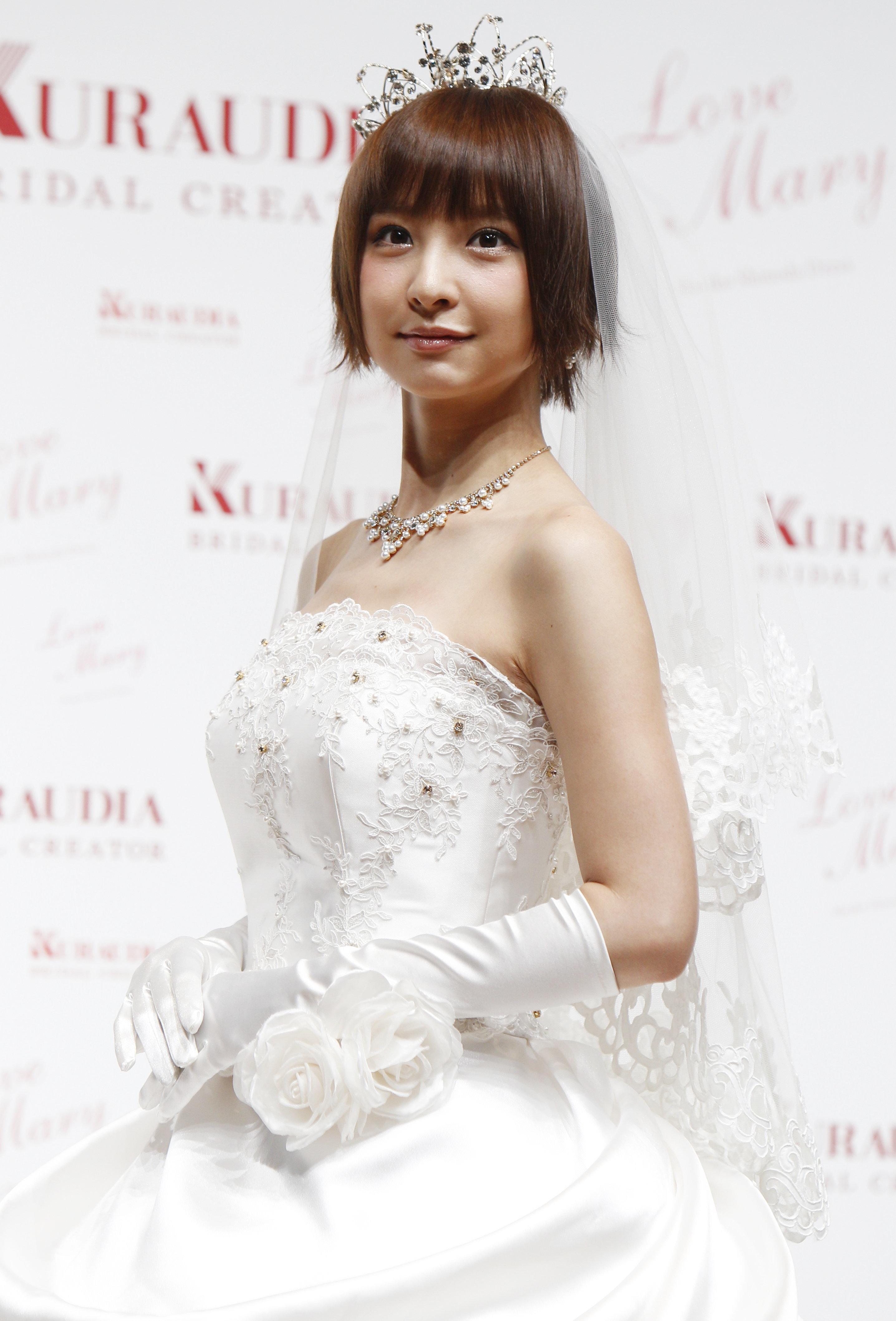 篠田麻里子「これが噂の玄米婚😎👌」