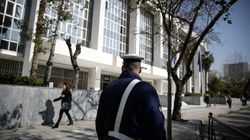 Εισβολή 30 ατόμων στο Εφετείο Αθηνών, με φέιγ βολάν και
