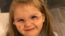 VERY SPEC-IAL: Little Girl 'Ashamed' To Wear Specs Comforted By Parents Sharing Their Kids' Glasses