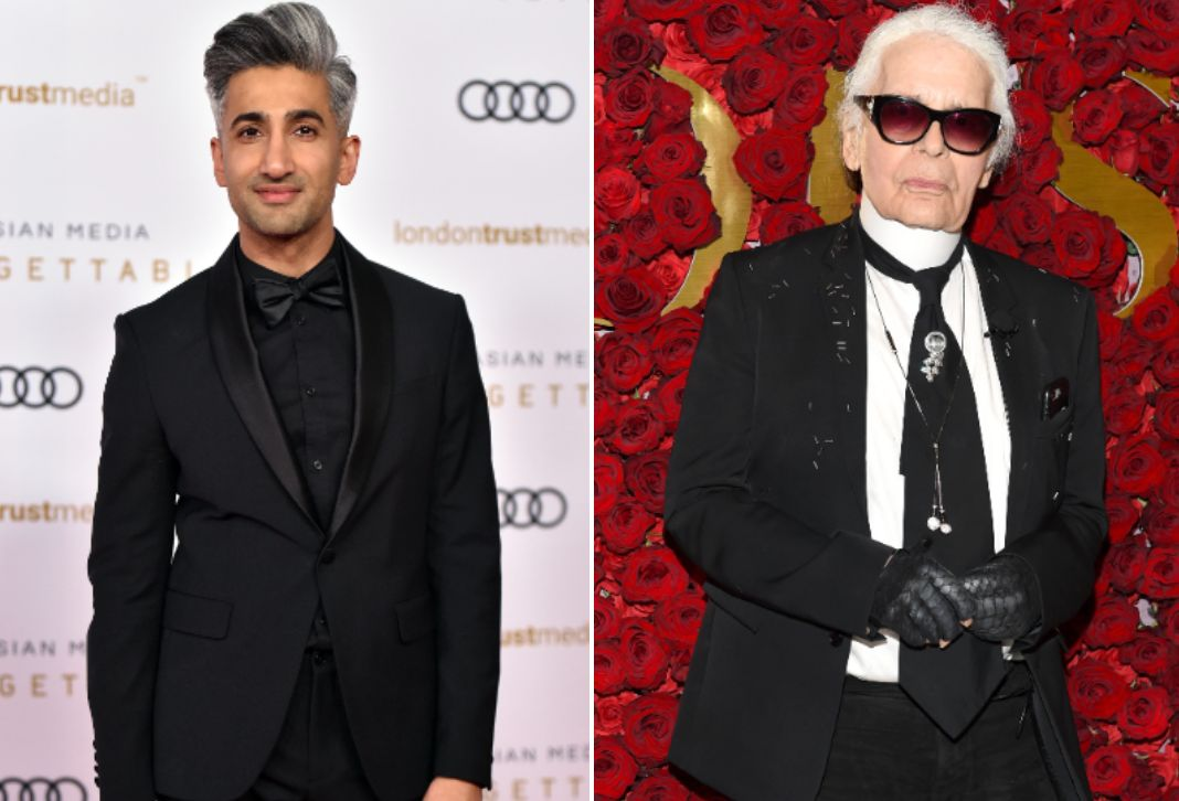 Queer Eye's Tan France Defends Karl Lagerfeld's 'Very Mean' Comments And