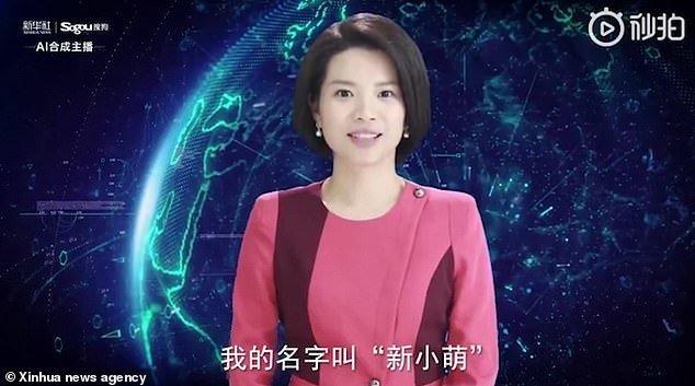 Η πρώτη ψηφιακή παρουσιάστρια ειδήσεων είναι Κινέζα και ήρθε για να