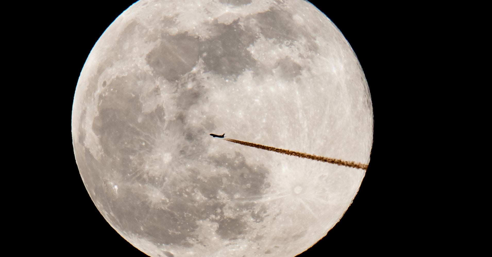 These Photos Capture February's Sensational Supermoon In All Its Celestial Glory
