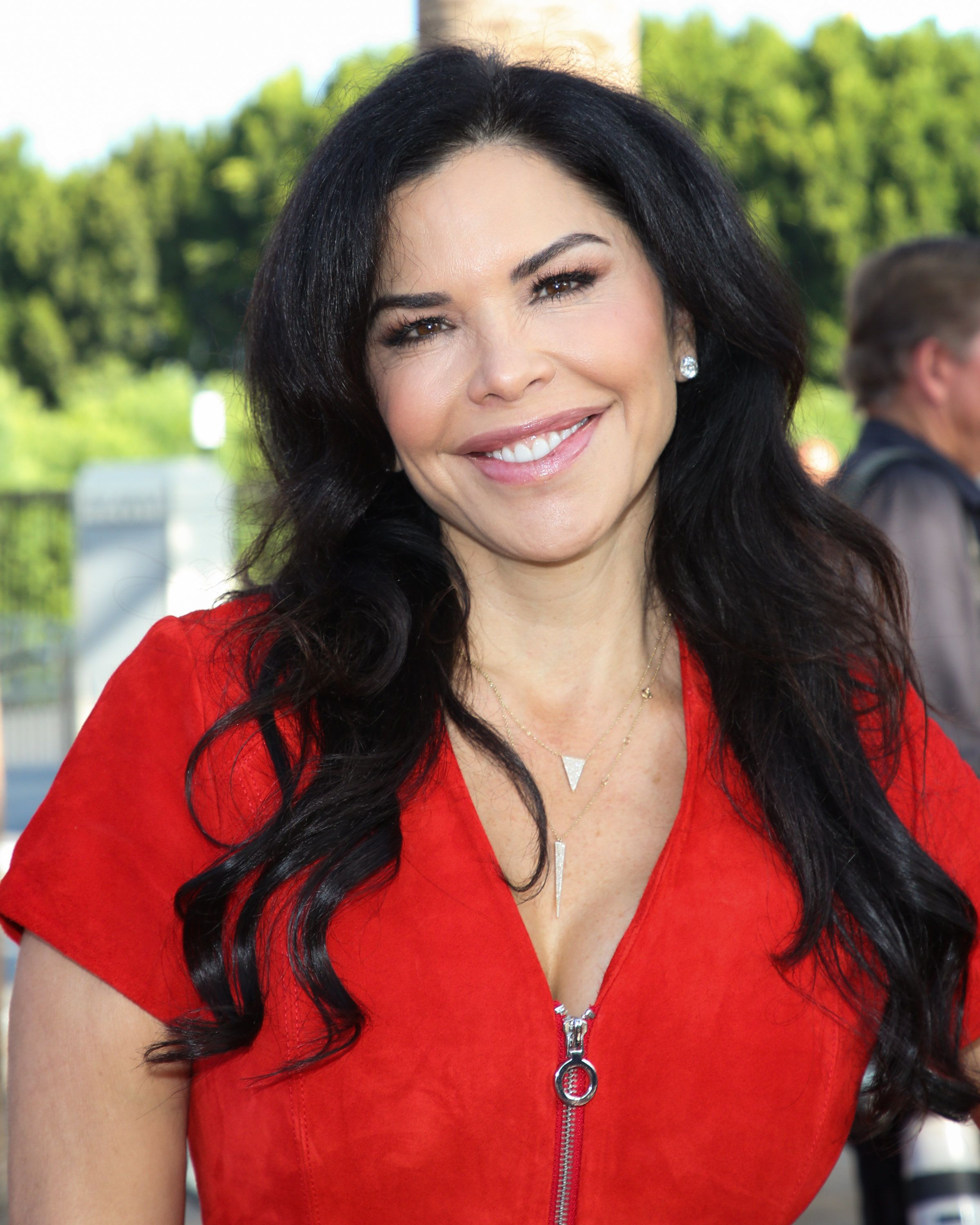UNIVERSAL CITY, CA - SEPTEMBER 10:  TV Personality Lauren Sanchez attends the 25th anniversary celebration of 'Extra' at Universal Studios Hollywood on September 10, 2018 in Universal City, California.  (Photo by Paul Archuleta/Getty Images)