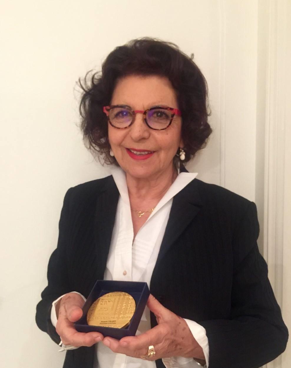 L'universitaire et intellectuelle tunisienne Faouzia Charfi honorée à l'IMA, à