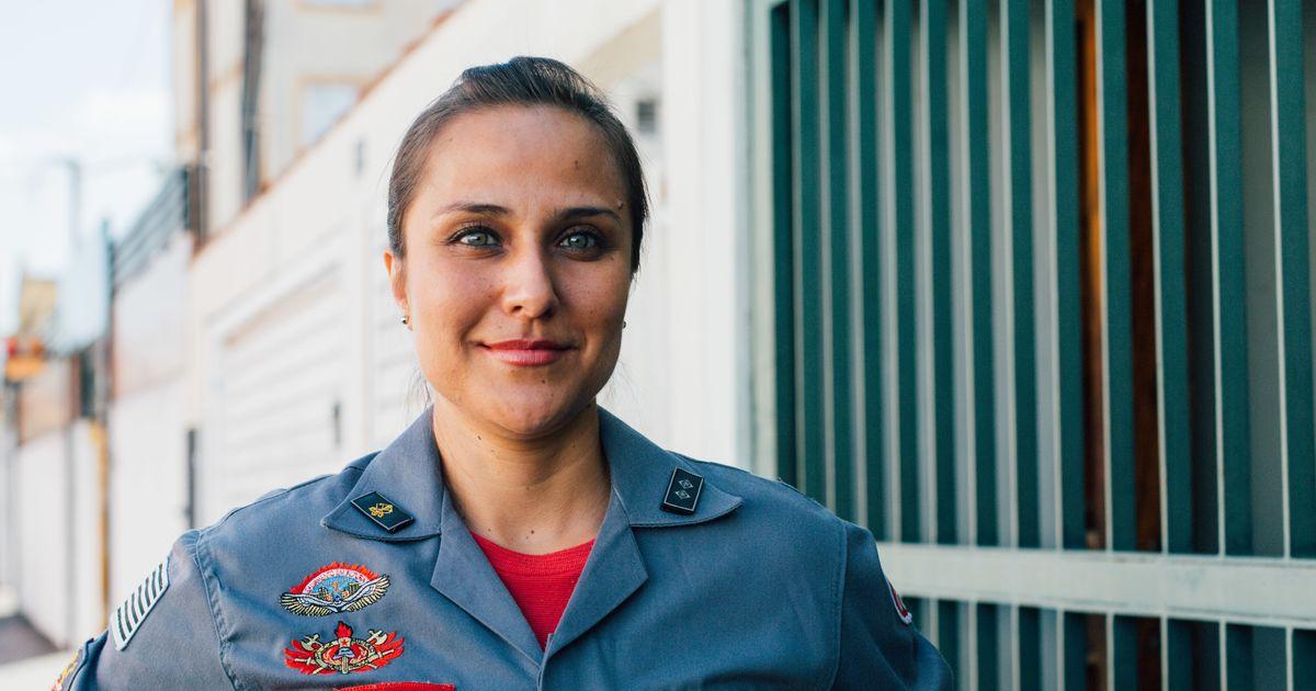 A determinação de Carol Settanni, a 1ª Tenente do Corpo de Bombeiros de São Paulo