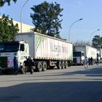 Exportations: lancement du premier convoi par route vers le