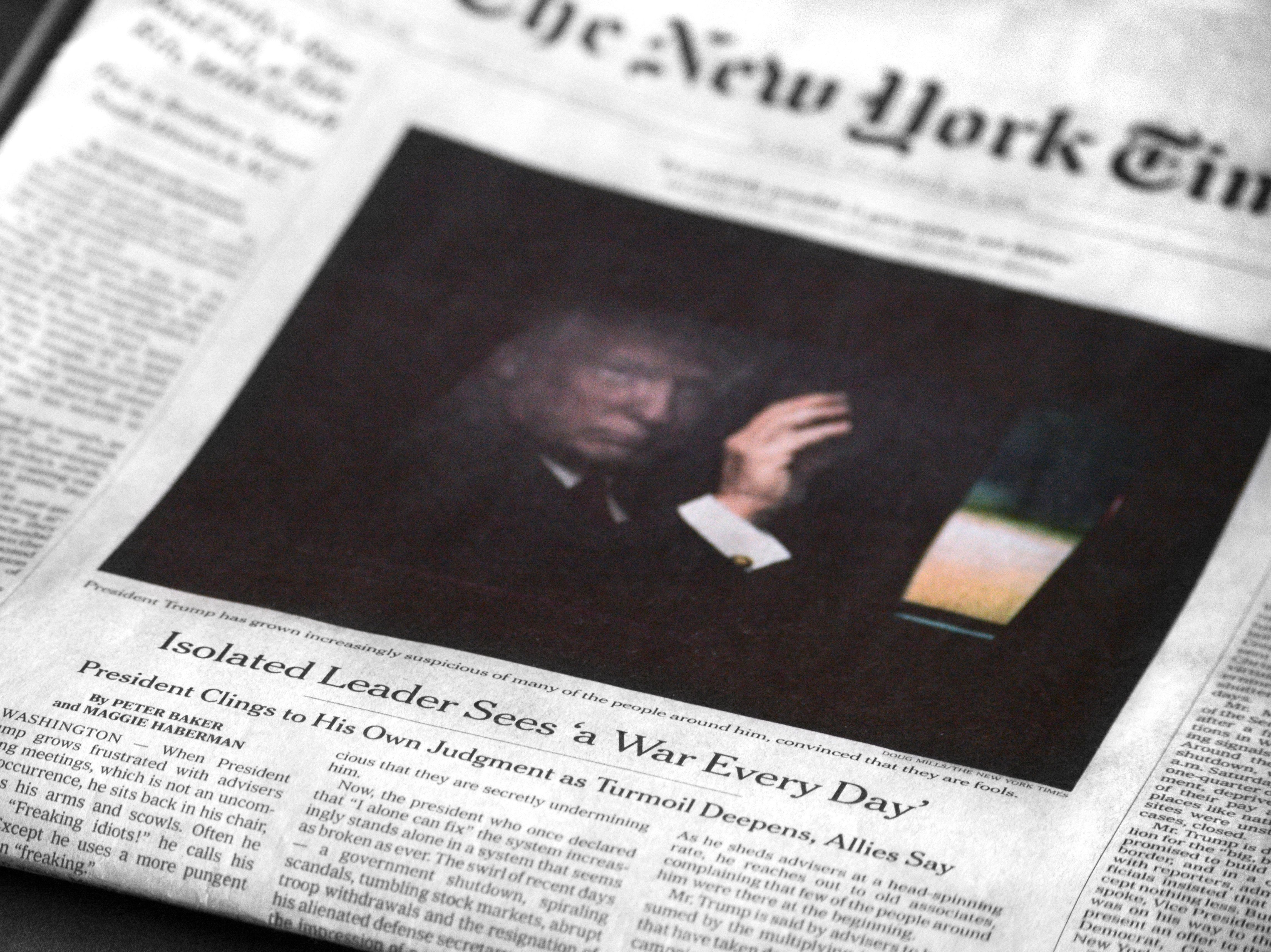NY Times Publisher Slams Trump's Anti-Media Rhetoric As Tyrannical,