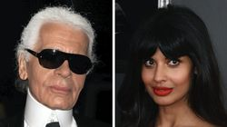 Jameela Jamil Calls Out Karl Lagerfeld For Being 'A Ruthless, Fat-Phobic