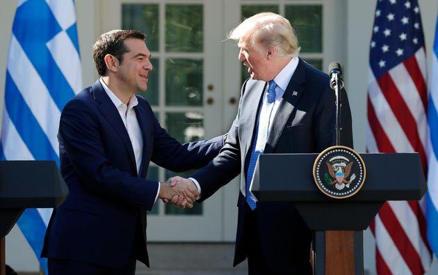 Επιστολή Τραμπ σε Τσίπρα για τη Συμφωνία των Πρεσπών. «Συγχαρητήρια για το ιστορικό