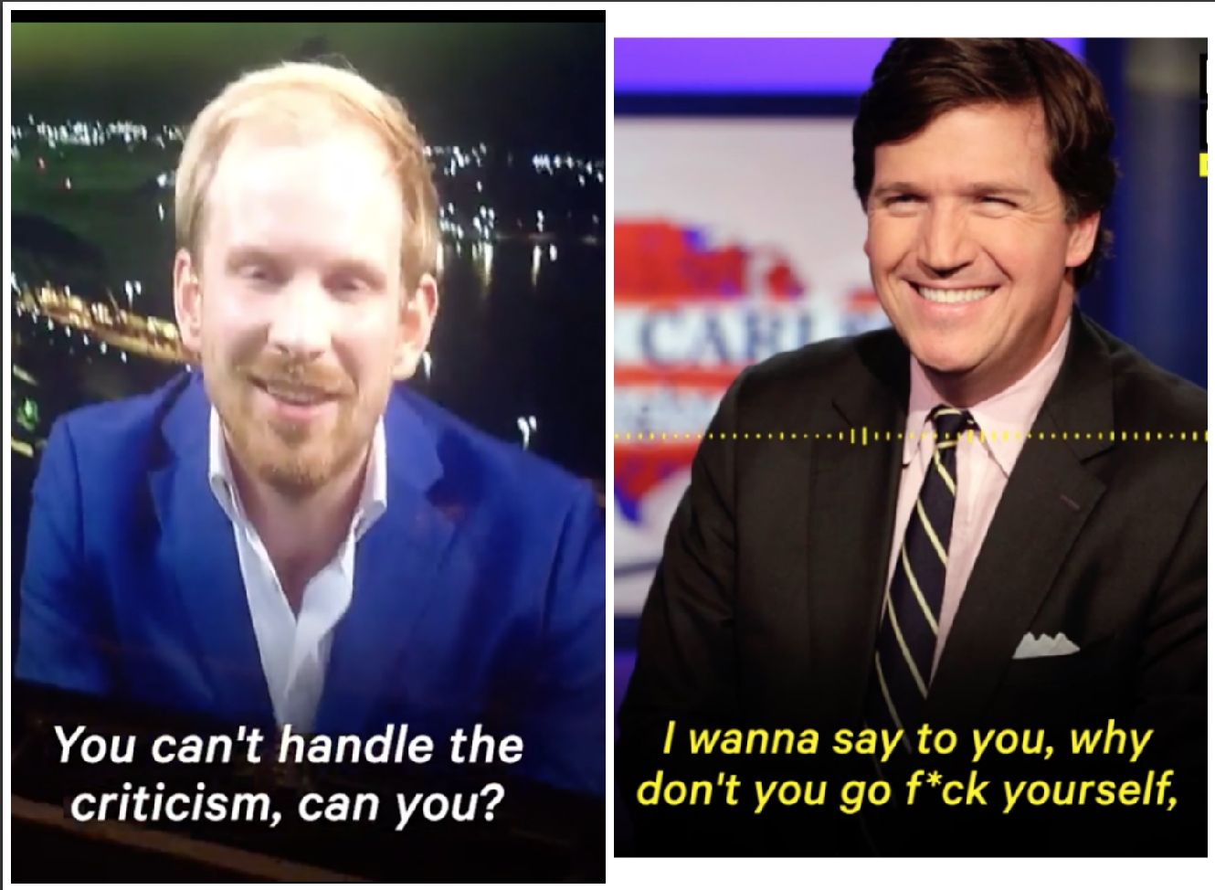Tucker Carlson Tells Historian To 'Go F**k' Himself In Spiked Fox News