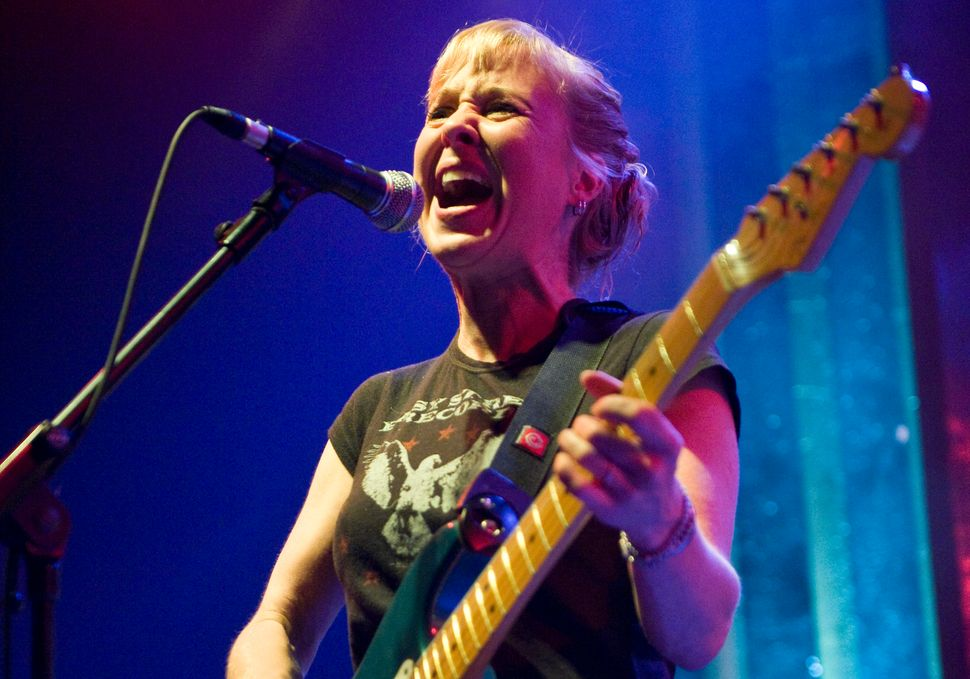 Kristin Hersh performs in Barcelona, Spain, in October 2011.
