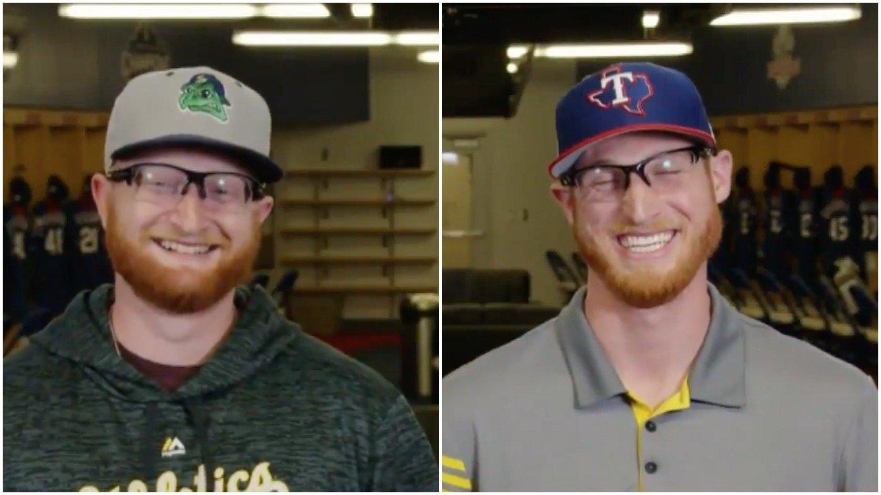 Two baseball players both named Brady Feigl