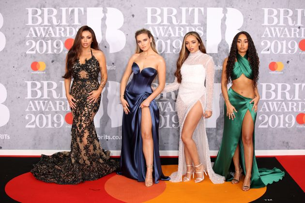 Little Mix at the 2019 Brit
