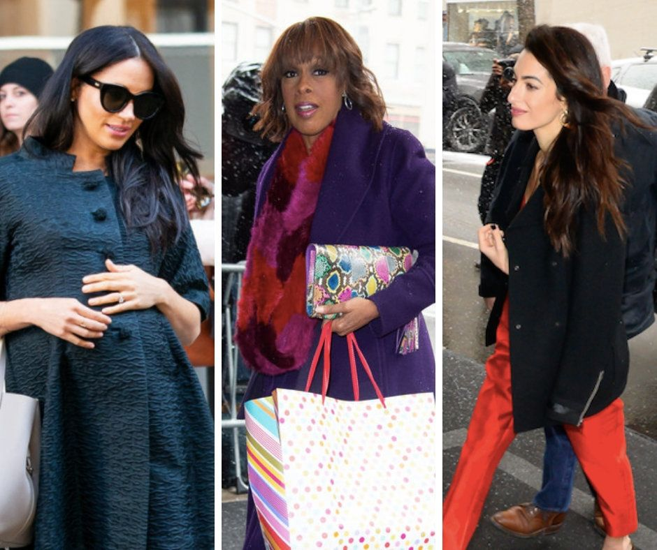 Meghan Markle's Baby Shower Had Serena Williams, Amal Clooney And Gayle