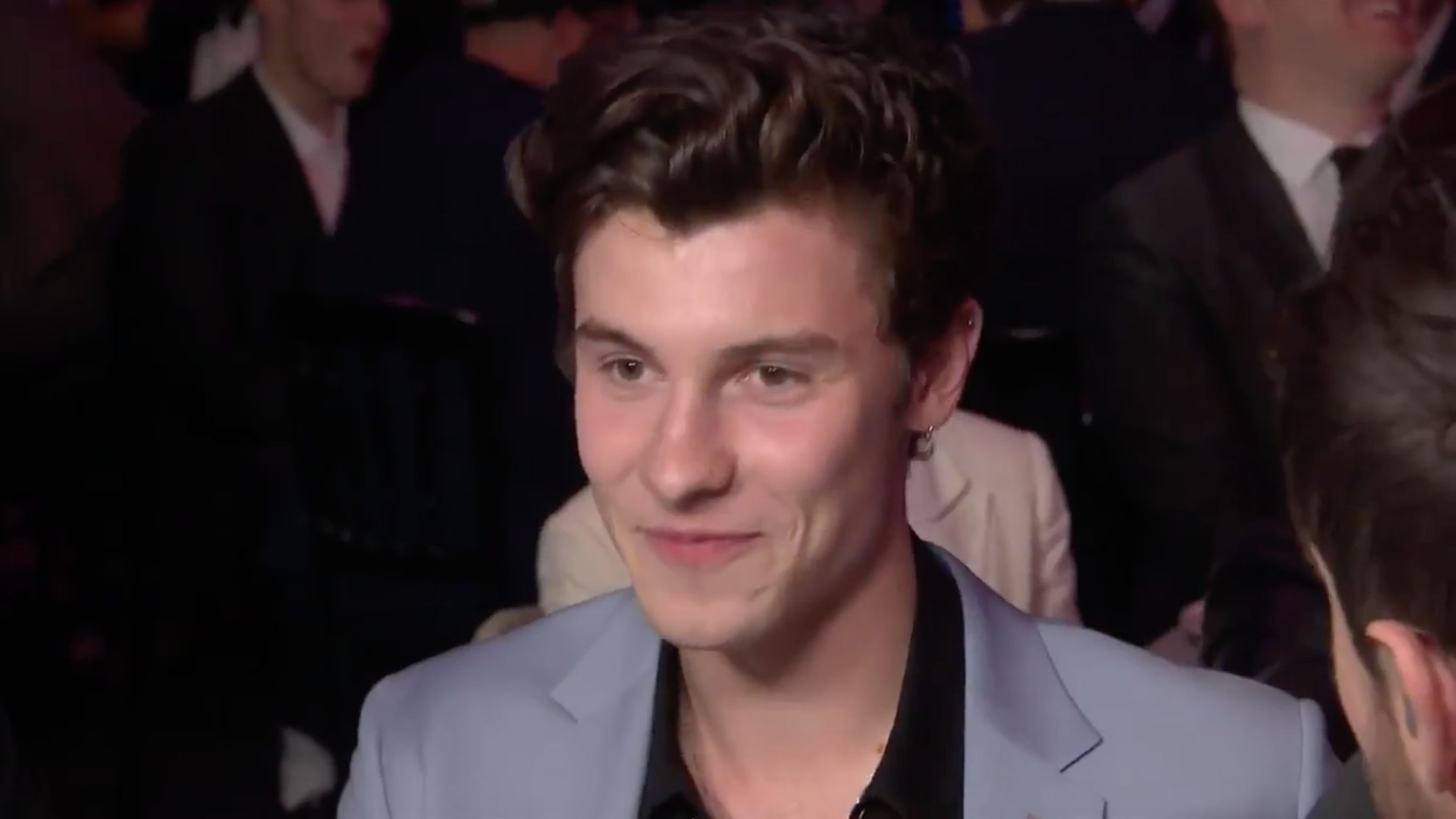Shawn Mendes Left Actually Blushing As Jack Whitehall Brings Up Calvin Klein Pics During