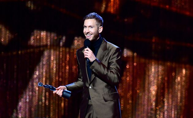 Calvin Harris also won two prizes on the night