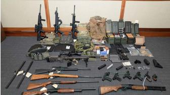 Federal prosecutors say U.S. Coast Guard lieutenant Christopher Hasson stockpiled weapons as part of a plan to murder civilians.