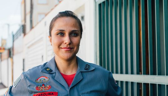 Carol Settanni, a determinação da 1ª Tenente do Corpo de Bombeiros de São