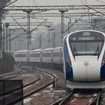 Vande Bharat Express Hits Motorcycle Hours After It Was Pelted With