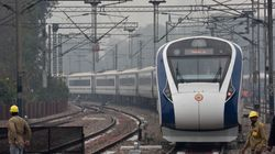 Vande Bharat Express, India's Fastest Train, Hits Motorcycle Hours After It Was Pelted With