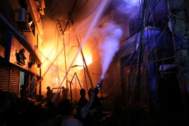 Bangladesh: 69 Dead In Fire At Buildings That Housed Plastics