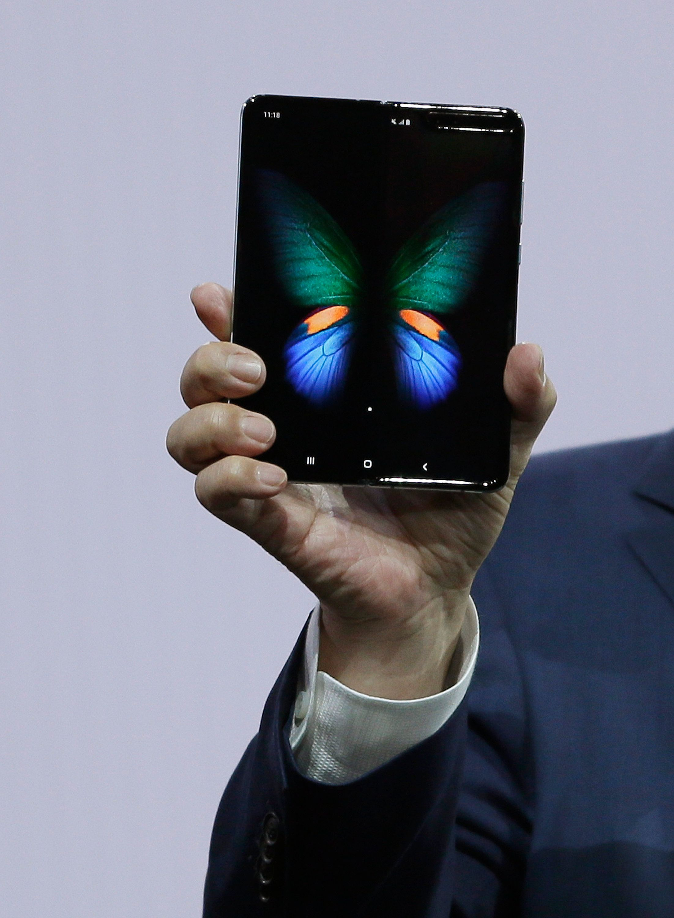 Samsung Unveils Its First Folding Phone — The Galaxy