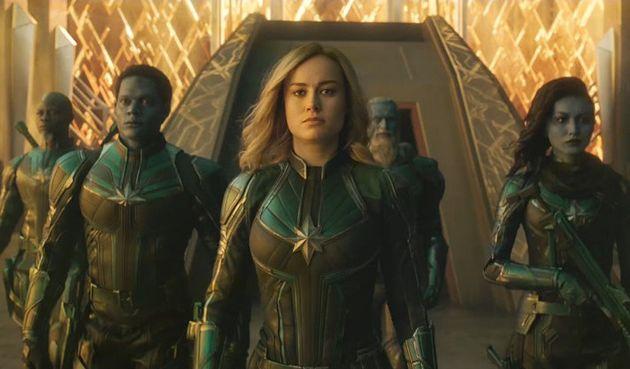 영화 '캡틴 마블'이 개봉 전부터 낮은 평점을 받는