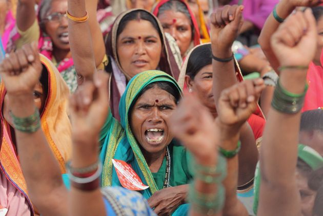 Farmers March To Mumbai Protesting 'Betrayal' By BJP Govts At Centre &