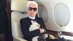 Karl Lagerfeld's Cat Choupette Set To Inherit Sizeable Chunk Of Designer's Multi-Million
