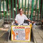 How Mumbai's Roadside Corn Removers Are Trying To Keep Their Peculiar Profession