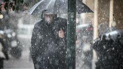 Έρχεται η «Ωκεανίς» και φέρνει μαζί της χιόνια, καταιγίδες και θυελλώδεις