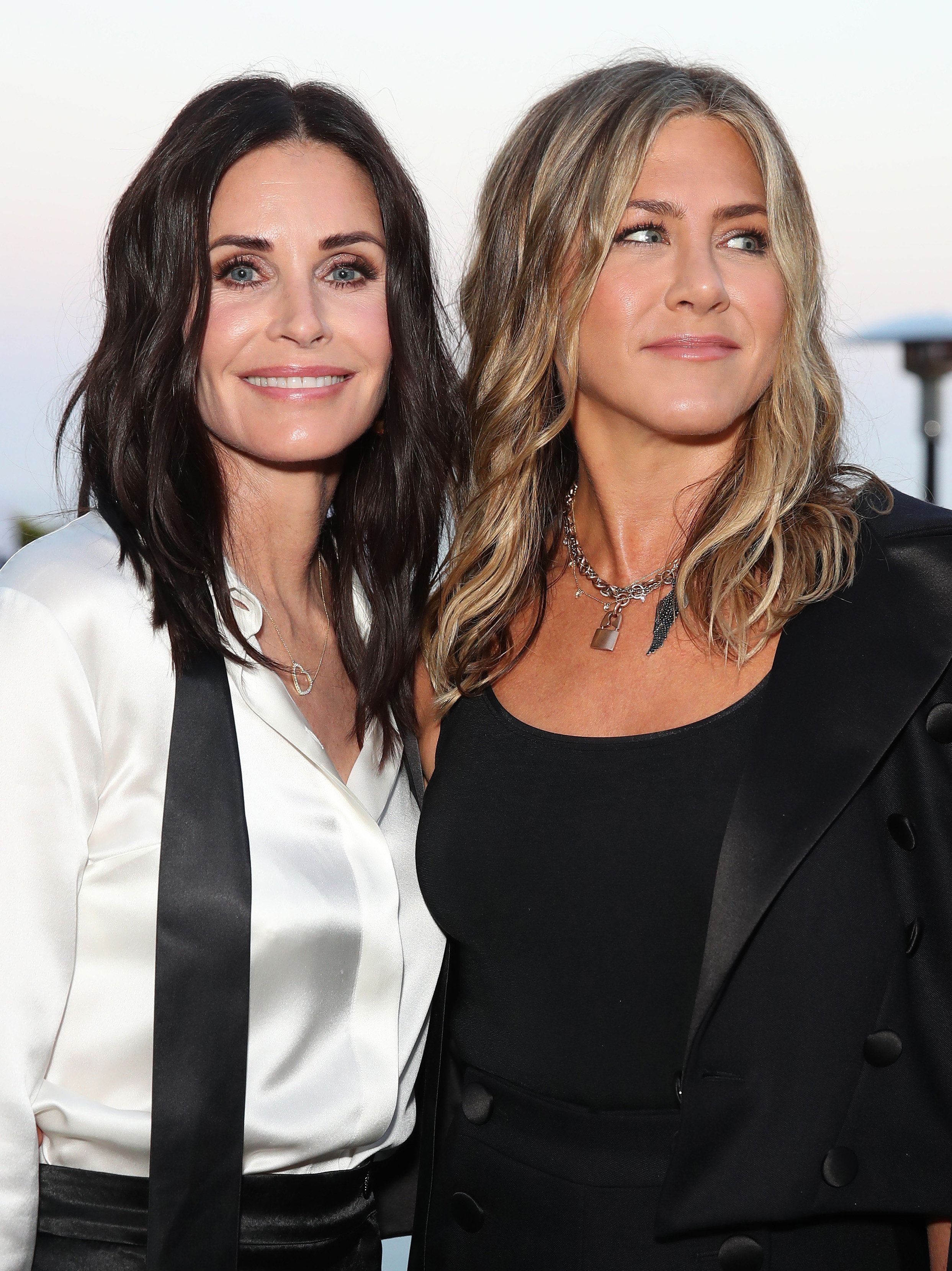 Courteney Cox Sent Daughter 'I Love You' Text After Private Jet Lost Tyre On Way To Jennifer Aniston's