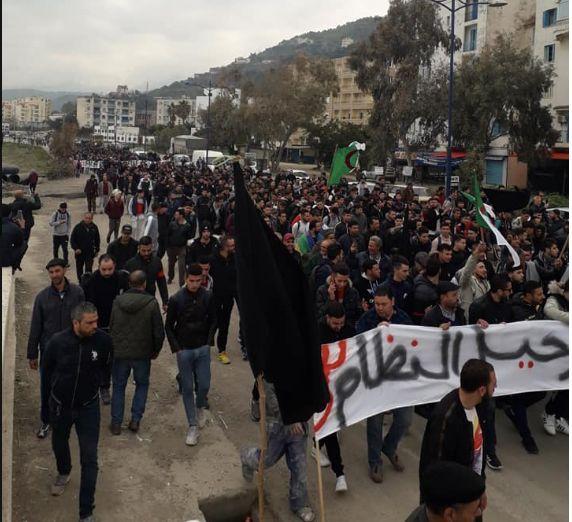 Marche contre le 5e mandat de Bouteflika à Tichy