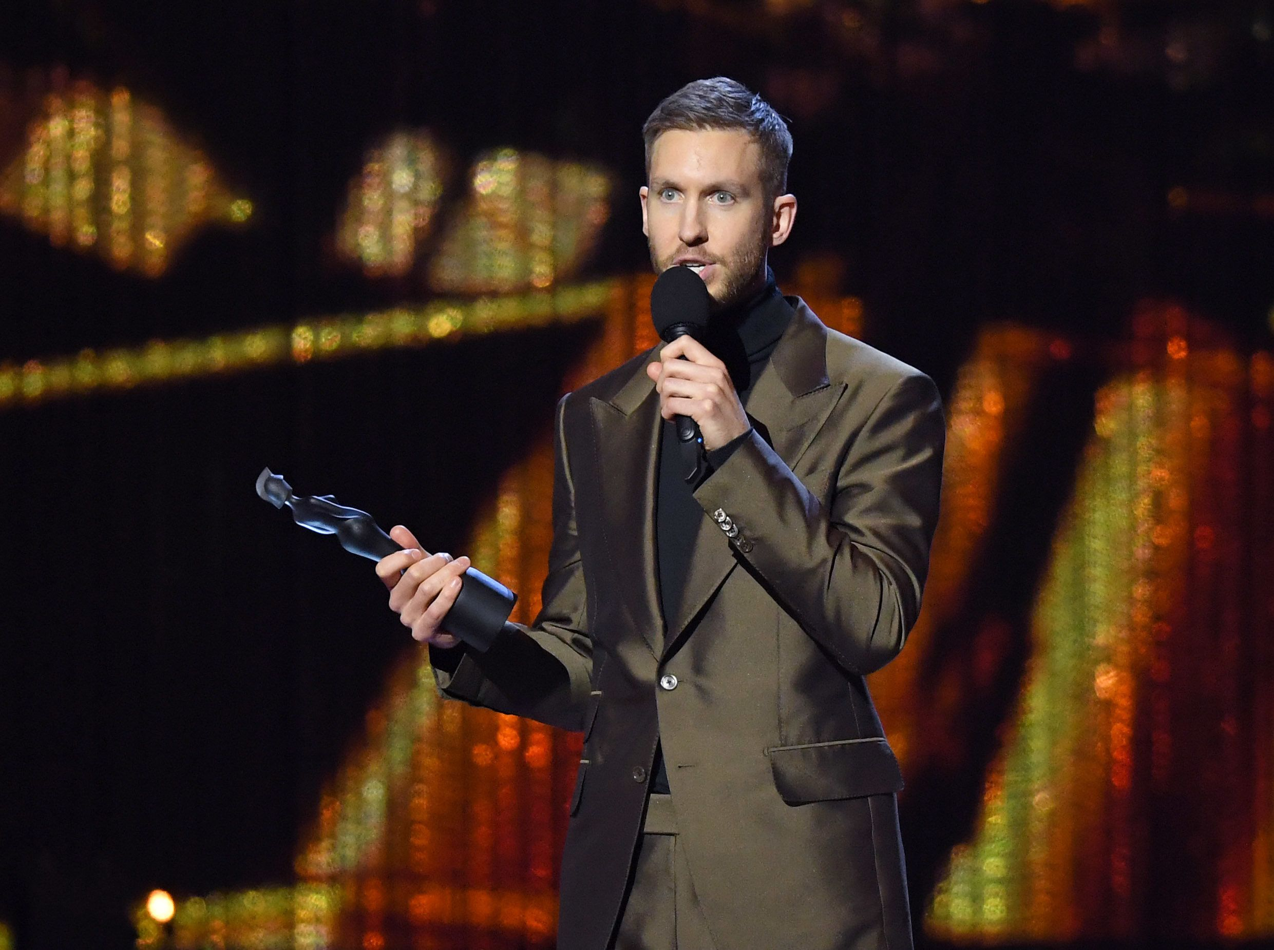 Calvin Harris' Scottish Accent Left Quite A Few Brit Awards' Viewers