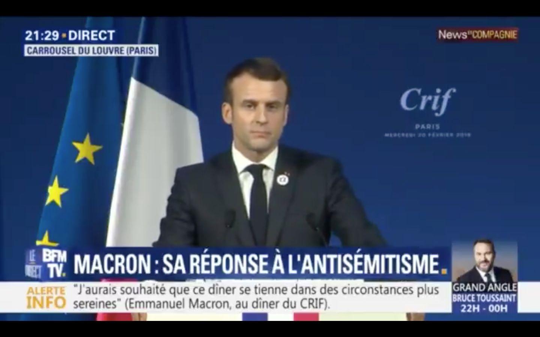 """La France va reconnaître l'antisionisme """"comme une forme moderne"""