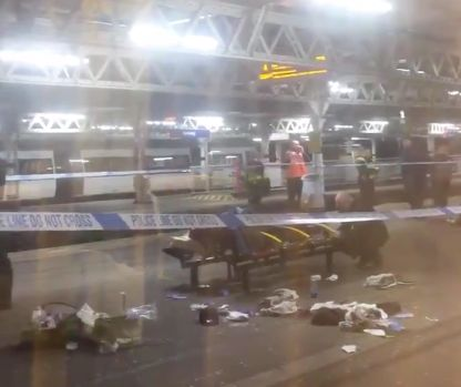 Teenager Shot At London Train Station 'After Argument On Hammersmith & City