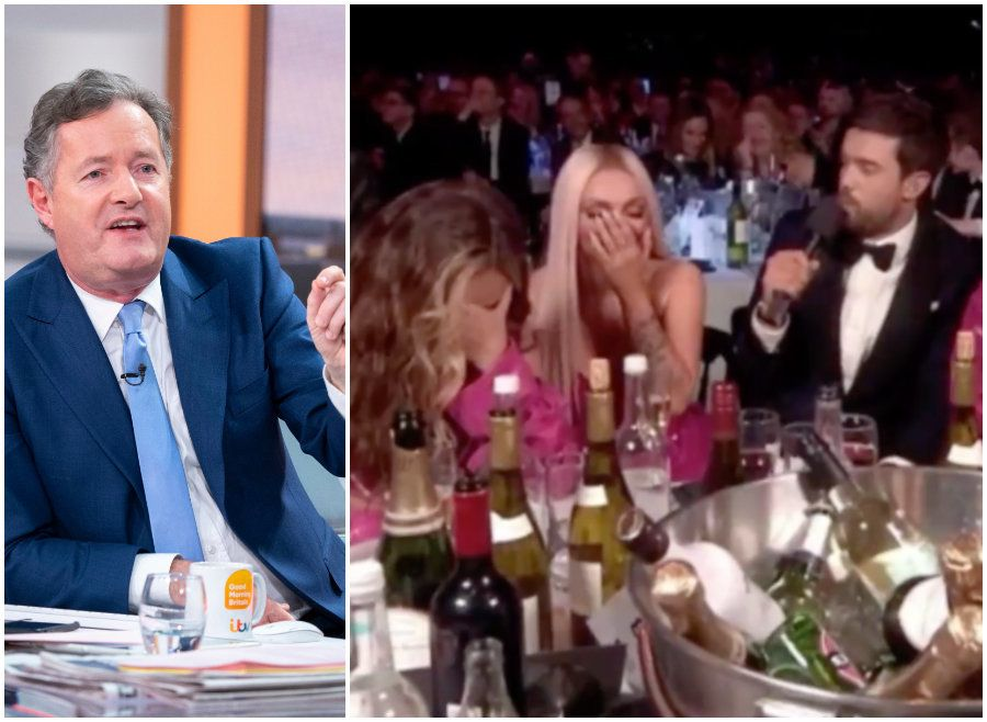 Piers Morgan Bites Back At Jack Whitehall And Little Mix After Brit Awards