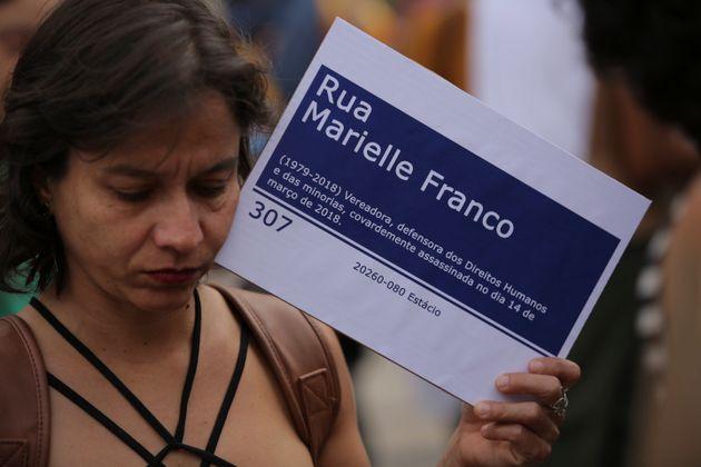 Marielle Franco e Anderson Gomes foram assassinados em março do ano