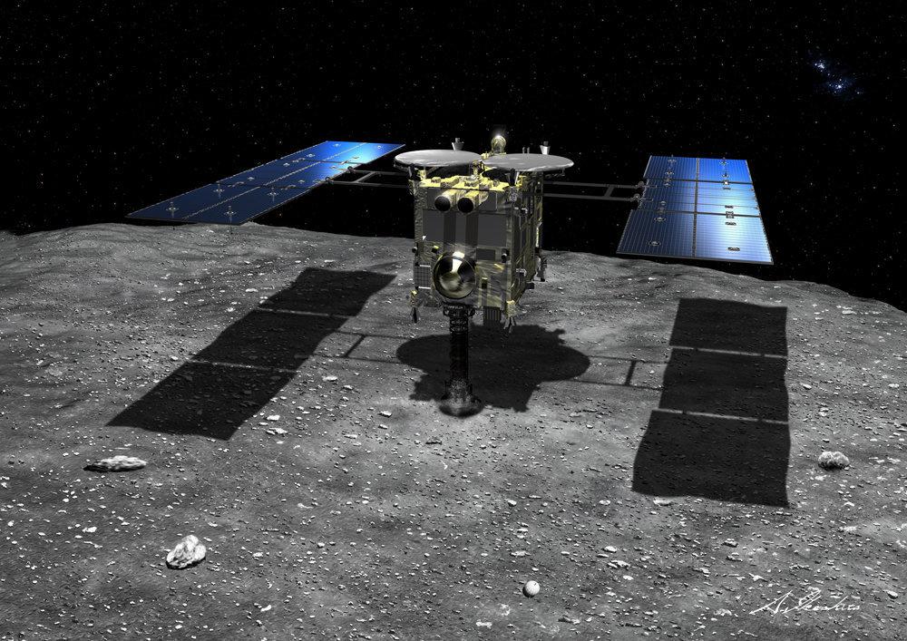 はやぶさ2、着陸成功か。小惑星リュウグウでサンプル採取に挑んだ