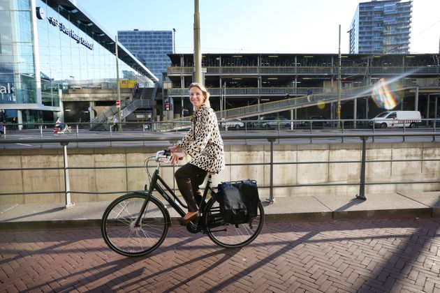 State secretary for infrastructure Stientje van Veldhoven on her