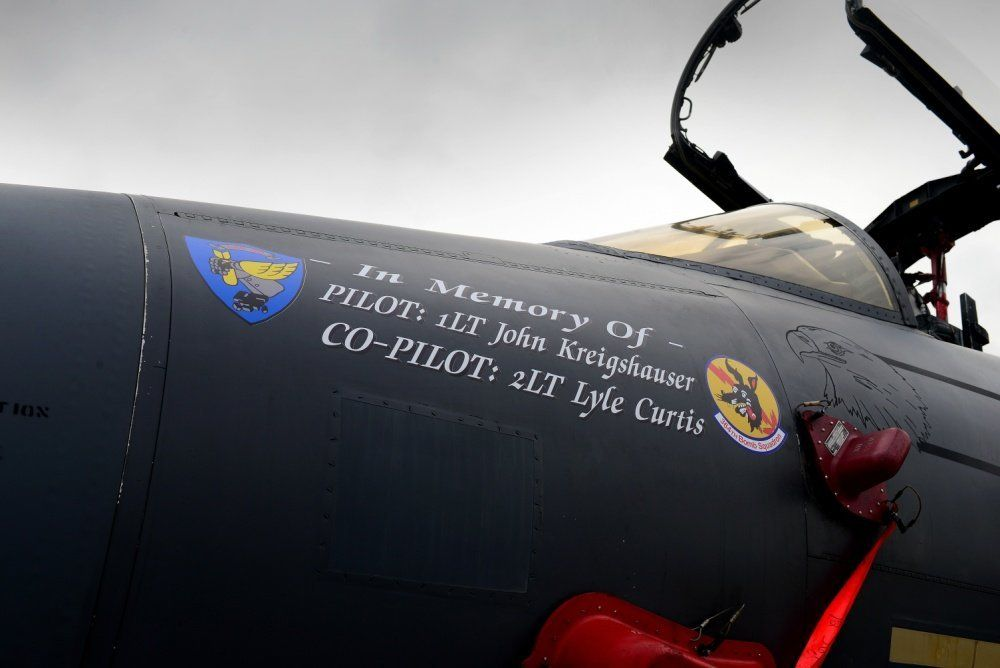 Man's dream to honour 10 American servicemen realised with flypast