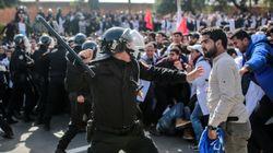La colère des enseignants qui ont manifesté le 20 février à Rabat