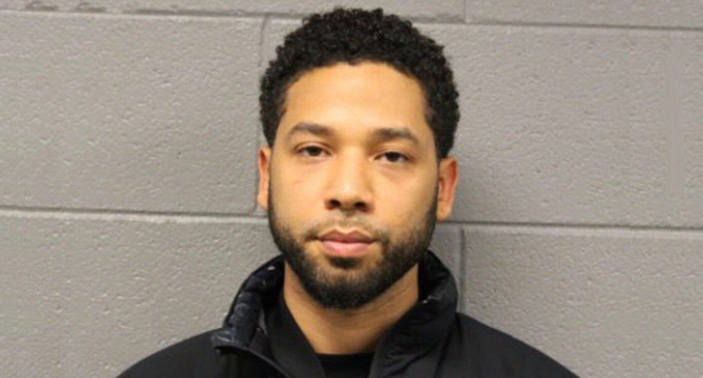 Jussie Smollett's mugshot. (Courtesy Chicago Police)