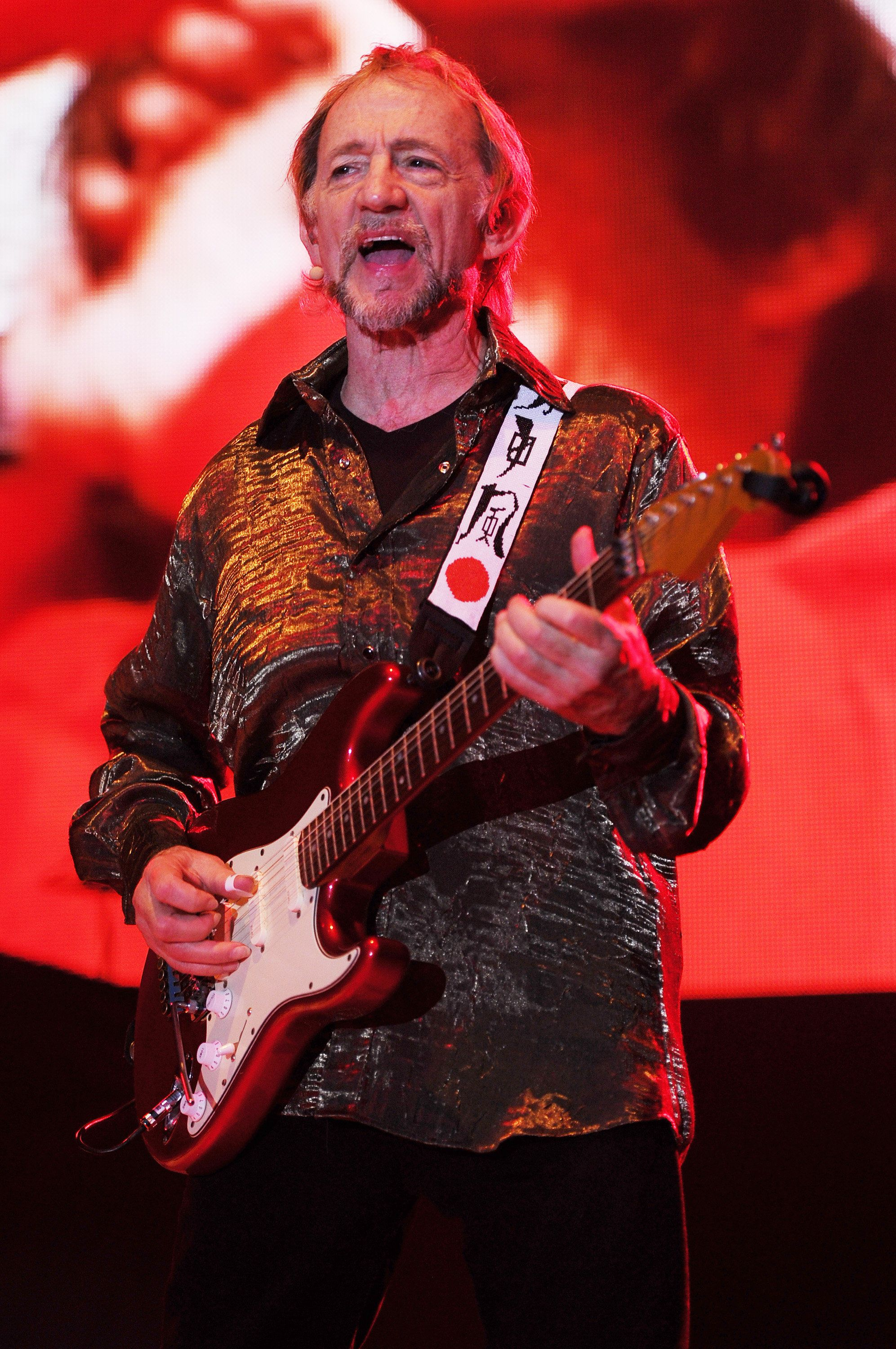 Peter Tork of The Monkees performs during the Mid Summers Night Tour at the Mizner Park Amphitheater on Saturday, July 27, 2013 in Boca Raton, Florida  (Photo by Jeff Daly/Invision/AP)
