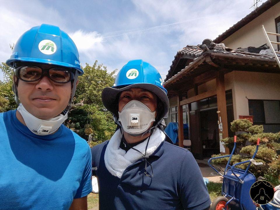 Volontariat après le séisme de Kumamoto au