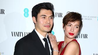 LONDON, ENGLAND - JANUARY 31:  Henry Golding and Liv Lo Golding attends the Vanity Fair EE Rising Star Party at The Baptist at L'oscar Hotel on January 31, 2019 in London, England. (Photo by Tim P. Whitby/Tim P. Whitby/Getty Images)