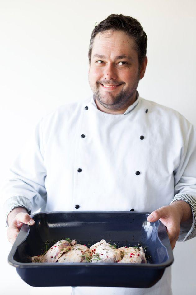 Autodidata, Leônidas Neto chamou atenção do chef dinamarquês SImon