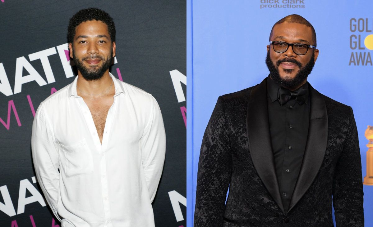 Tyler Perry's response to Smollett case`