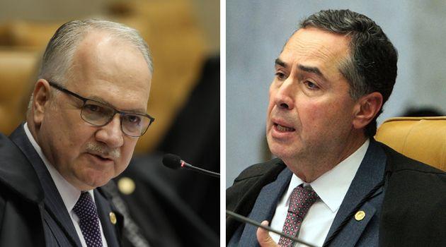 Luiz Edson Fachin e Luís Roberto Barroso, ministros do STF, votaram a favor das ações...
