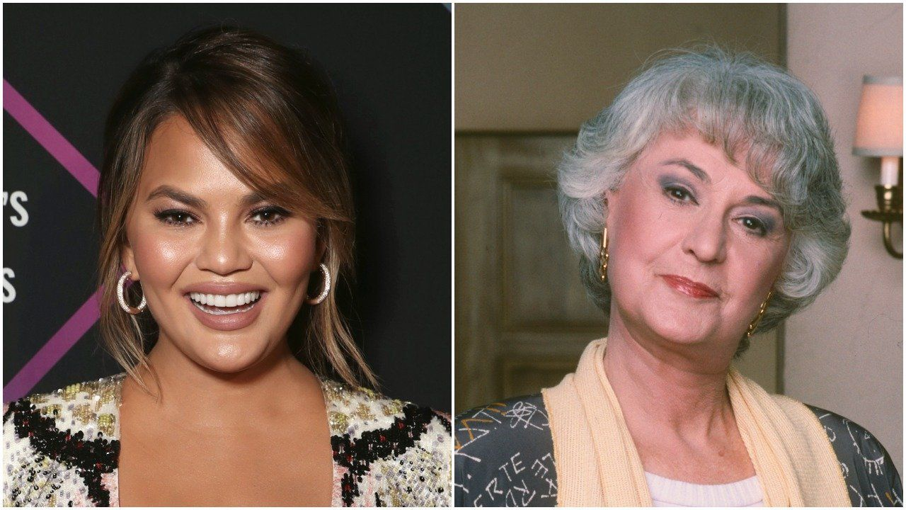 Chrissy Teigen May Have Accidentally Made Bea Arthur Trend On Twitter